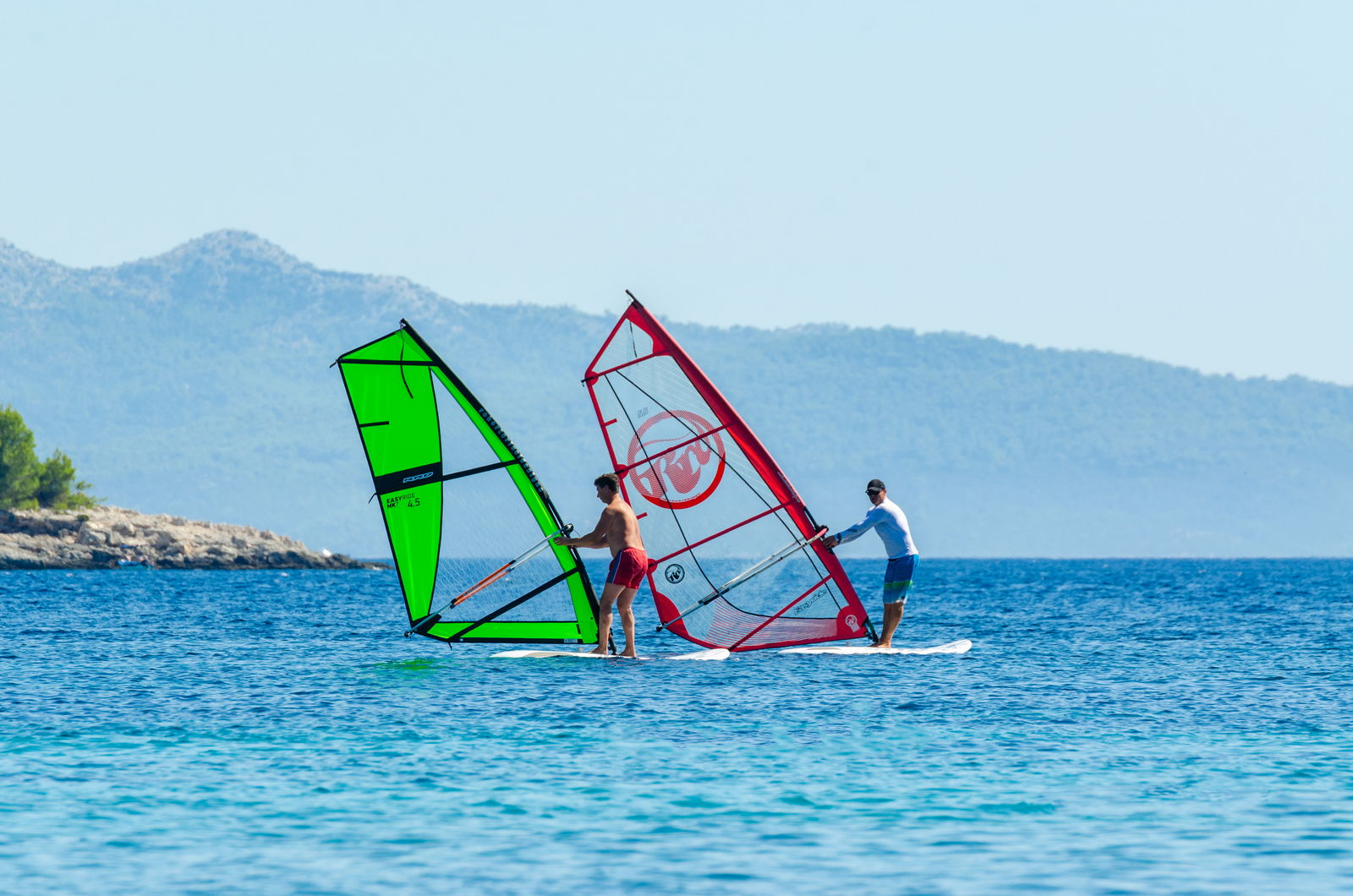 windsurfing korcula school extreme 11 - Location - Prizba, Korcula